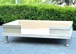 dog bed frames wood frame diy wooden