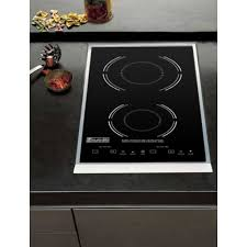 drop in double induction cooktop eurodib sc05