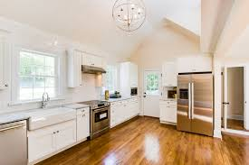 Cobblestone Kitchen Floor Remodelaholic Open Plan Kitchen And Dining Room