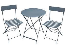 Ensemble table et fauteuil de jardin | Domino panda