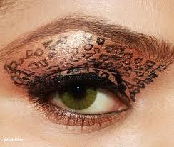 leopard eyes makeup eotd