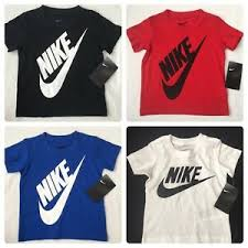 Details About Nike Boys Short Sleeve T Shirt 2t 3t 4t White Red Black Blue Gift 18
