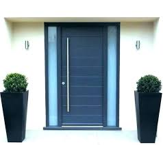 glass panels for front doors modern front doors with glass side panels