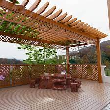 hot terrace patio roofing shed