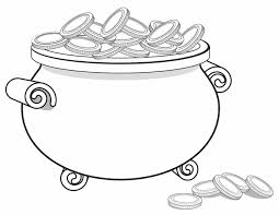 Small Picture Pot of Gold Free Printable Coloring Pages