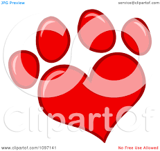 red dog paw clipart. Delighful Paw Red20dog20paw20clipart To Red Dog Paw Clipart W