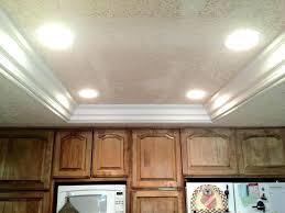replacing fluorescent light replace fluorescent light in kitchen replacing fluorescent kitchen with crown moulding and recessed lights removing fluorescent
