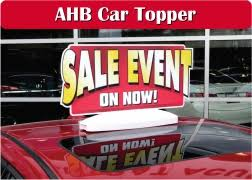 Auto Sale Signs
