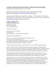 Free Federal Resume Builder | Best Business Template inside Usa Jobs Resume  Builder