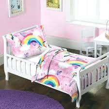 toddler comforter set dream factory unicorn rainbow 2 piece toddler comforter set toddler comforter