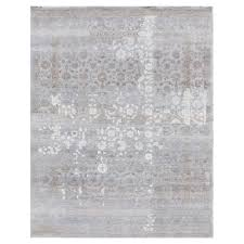 exquisite rugs gia global bazaar moroccan pattern distressed blue taupe rug 8 x 10
