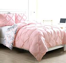 light pink ruffle comforter set pale blush solid and grey sets girls twin pale pink down comforter