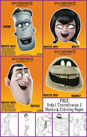 the me free hotel transylvania coloring pages