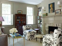 light gray living room furniture. Living Room Of Olivia Brock Lacquered Life Pair Pyne Hollyhock Slipper Chairs Light Gray Furniture B