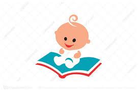 logo baby book learning logo