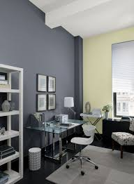 office wall paint color schemes. Urban Home Office! Wall Color: Eclipse - Accent Rainforest Dew Office Paint Color Schemes O