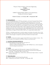Sample Statement Of Work Template Statement Of Work Examples Under Fontanacountryinn Com