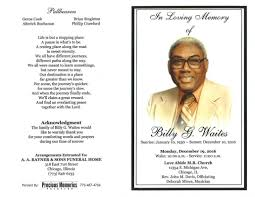 Billy G Waites Obituary   AA Rayner and Sons Funeral Home