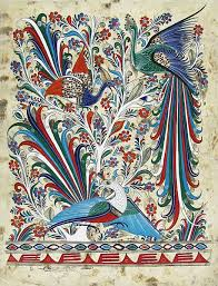 Bark Paintings Collection - Birds of Paradise - BRK910 | Mexican ...