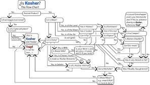 Is Is Kosher Flow Chart Diagram Chart Bullet Journal