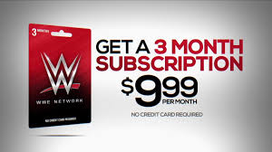 wwe network gift card walmart