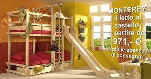 Camera Da Bambini Usato : Mobili per bambini letto a soppalco castello