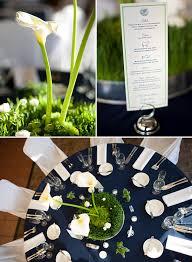 Navy Blue And Green Wedding Ideas