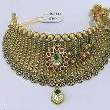 best necklace design in katargam jewellers showroom photos surat