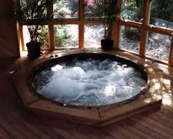 indoor jacuzzi hot tubs with deck floor home design ideas regarding plans