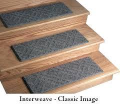 stair treads non slip image interweave dog assist carpet pertaining to rug plan 0 polyurethane for
