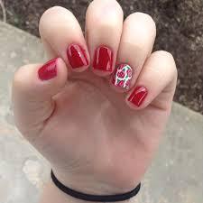 29+ Red Acrylic Nail Art Designs , Ideas | Design Trends - Premium ...
