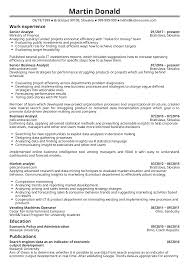 Make A Resume On Indeed Senior Business Analyst Resume Intelligence Sample Template