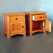 Maple Corner Harvest Moon Nightstands Modern Vermont Artisans
