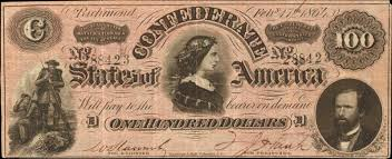 Confederate Money Value Chart Values Of Old Confederate Money Paper Money Buyers
