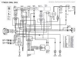 yamaha yfm350xp warrior atv wiring diagram and color code and 350 kawasaki atv 400 4x4 wiring diagram at Kawasaki Atv Wiring Diagram