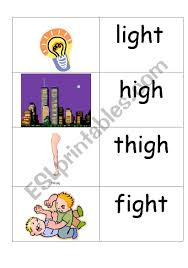 Worksheets are long vowel crosswords igh name date, igh and ie sounds, ai ay y igh phonics readers, phonics igh words more teaching tools at high night light, igh and ie sounds. Word Picture Cards That Contains Igh Phonics Esl Worksheet By Jenniferoz69