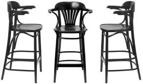 HND  St Louis Thonet Bentwood Bar Stool Product Image Thonet Bar Stool86