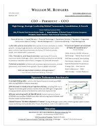 Executive Resume Writing This Sample Executive Resume Written By A
