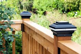 Awesome Solar Led Fence Post Lights Fence Post Lights 4x4 Bronze Deck Post Caps  Solar Railing Post Lights Solar Lamp Post Caps
