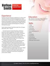 Resume Examples Templates: Simple Easy Resume Examples For Dental ...