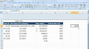 how to use percentage formatting in excel 2007 excel 07 011 you