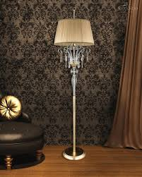 chandelier floor lamp chrome arc crystal stacked ball brass lamps luxury z gallerie lights tall for living room really cool high end table funky