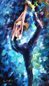 leonid afremov oil on canvas palette knife original paintings art famous artist biography official page gallery large artwork blue