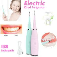 <b>Electric Tooth Cleaner Ultrasonic</b> Oral Irrigator Cleaning Kit Teeth ...