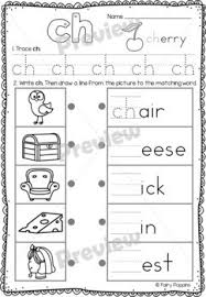 Digraphs are consonants that combine to create a single sound. Digraphs Worksheets Phonics Workbook By Fairy Poppins Tpt