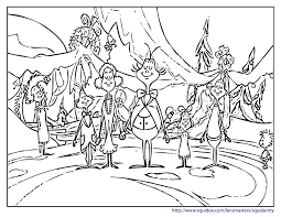 Small Picture Grinch Coloring Pages GetColoringPagescom