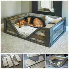 Diy Dog Bed Diy Pallet Dog Bed Diy Pallet Crafts Pinterest Pallet Dog