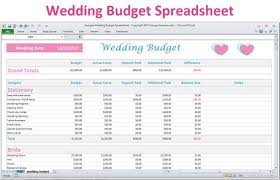 Wedding Budget Calculator