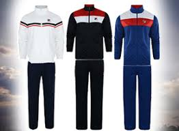 fila tracksuit. men\u0027s fila retro zip tracksuit in 3 colours