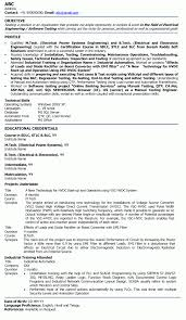 Electrical Engineer Resume Examples Electrical Engineer Resumes Electric Engineer Professional Resume 5